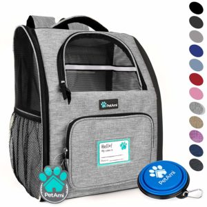 PetAmi Deluxe Pet Carrier Backpack for Small Cats