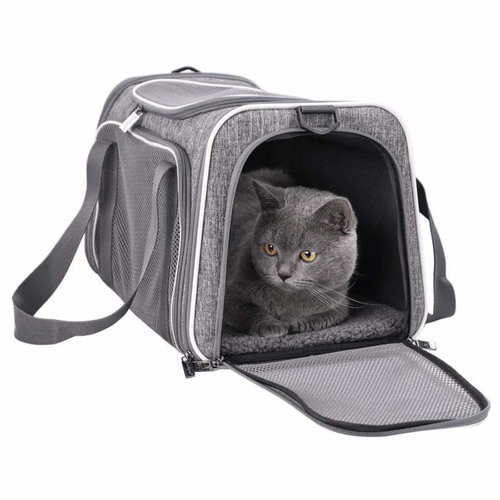 Petisfam Top Load Cat Carrier