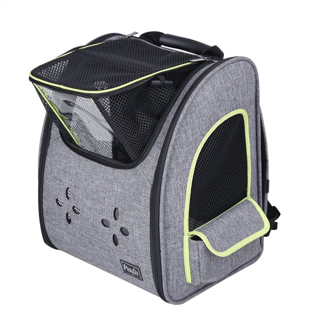 Petsfit Comfort Dogs Carriers Backpack,Fabric Pet Bag with Good Ventilation