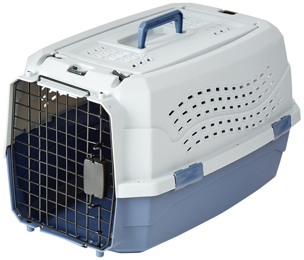 Basics Two Door Top Load Pet Kennel