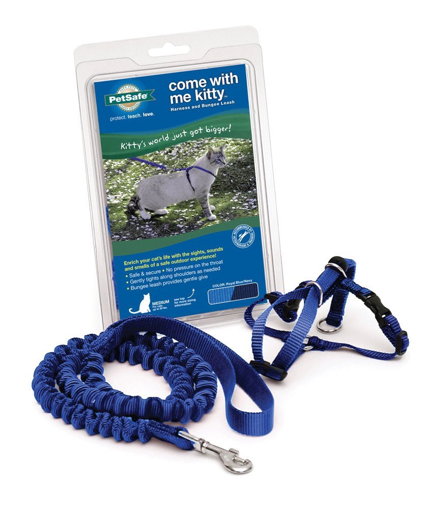 PetSafe Come With Me Kitty Harness Bungee Leash