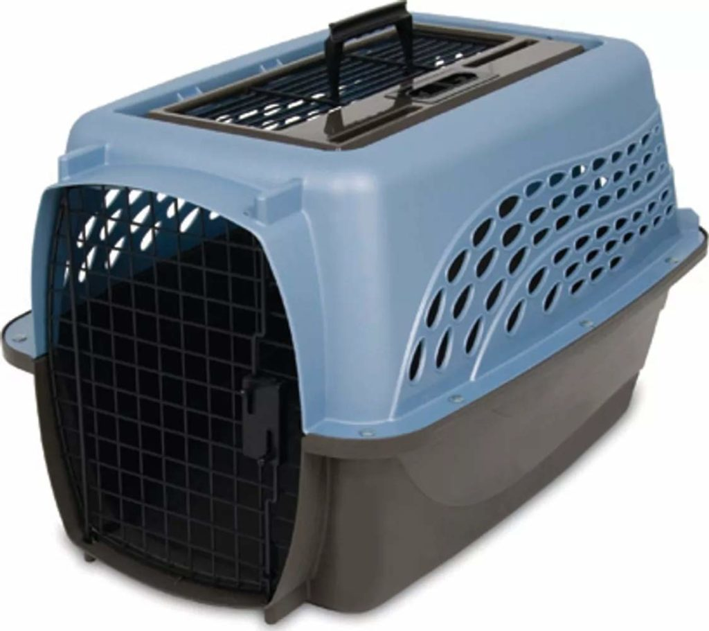 Petmate Two Door Top Load Dog Kennel Assorted Colors