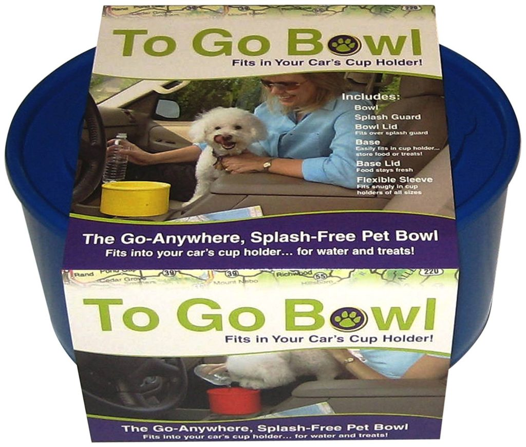 Furry Travelers To Go Pet Bowl