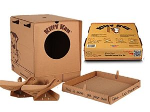 Kitty Kan Traveler Quality Enclosed Disposable Litter Box