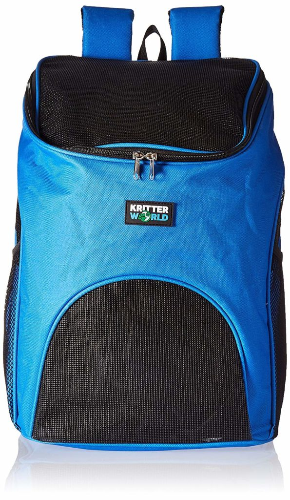 KritterWorld Pet Carrier Backpack for Small Dogs and Cats