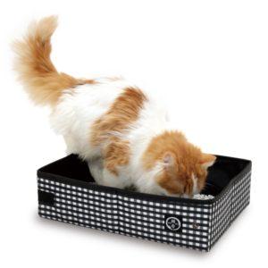 Necoichi Pop-up Portable Cat Litter Box