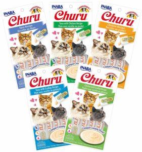 INABA Churu Lickable Creamy Puree Cat Treats