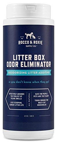 Rocco & Roxie Litter Box Odor Eliminator