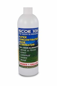 SCOE 10X - Natural Probiotic Odor Eliminator Concentrate
